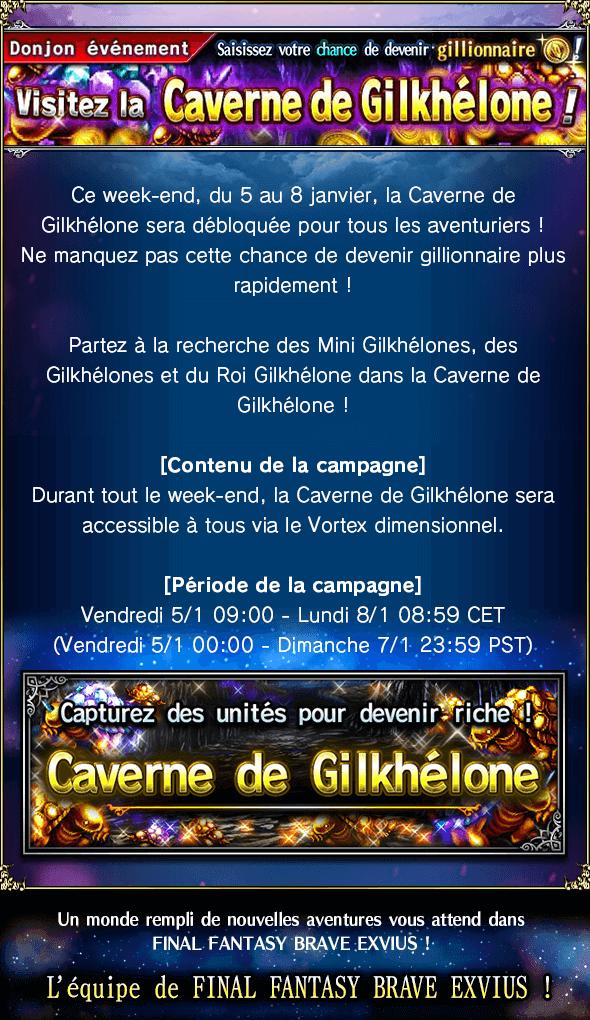 Caverne de Gilkhélone - du 05/01 au 08/01 20180105_news_banner_gill_snappers_cave