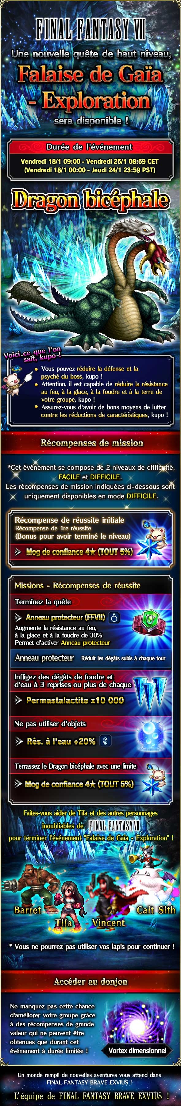 Trial MK FFVII - Falaise de Gaïa (Exploration) - du 18/01 au 25/01/19 20190115FF7GaeasCliffExploration
