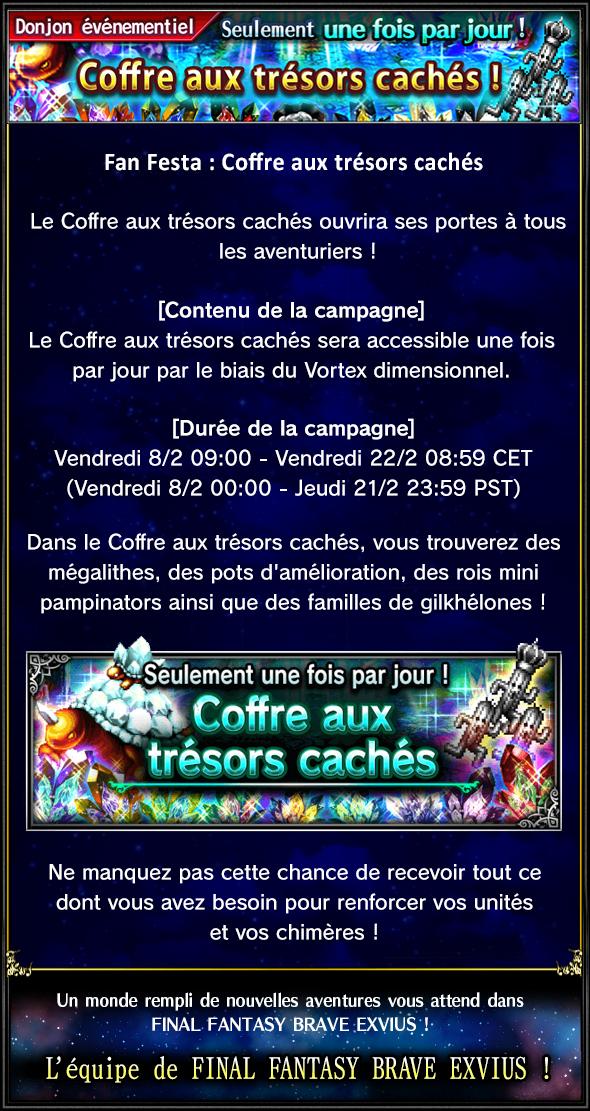 Evenement - Coffre aux trésors cachés - du 08/02 au 22/02/19 20190207Vaultofhiddentreasure