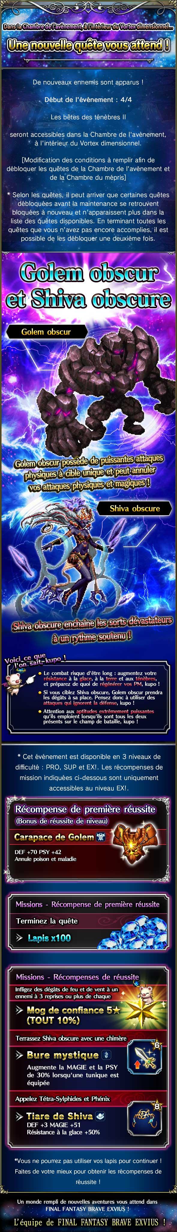 Trial - Les bêtes des Ténèbres II (Shiva & Golem Oscurs) - à partir du 04/04/19 20190402TheFallenBeastsoftheDarkII
