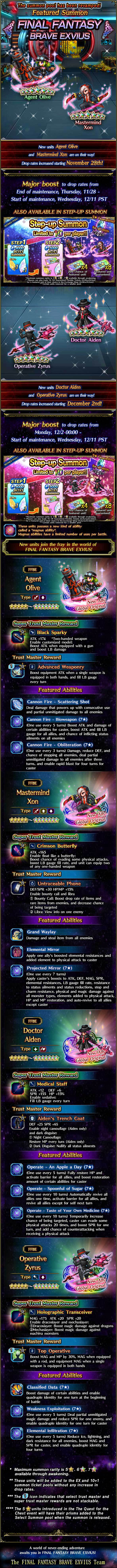 Invocations du moment, boutique d'échange et ticket flexible d'unité 5★ garantie - FFBE - Black Fryday - du 28/11 au 12/12/19 20191125BlackFridayFeaturedSummon
