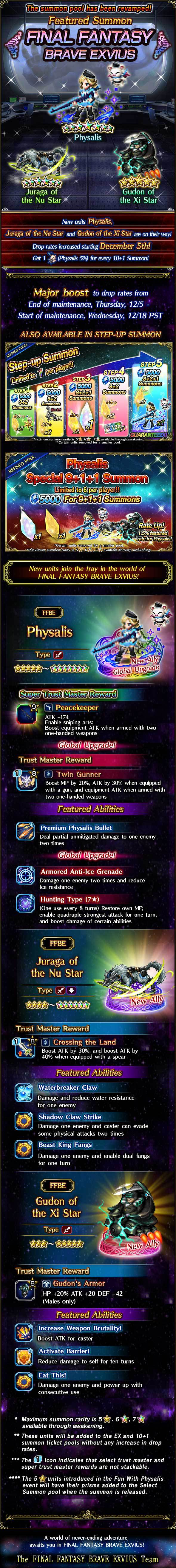 Invocations du moment - FFBE (Physalis) - du 05/12 au 19/12/19 20191203PhysalisFeaturedSummon