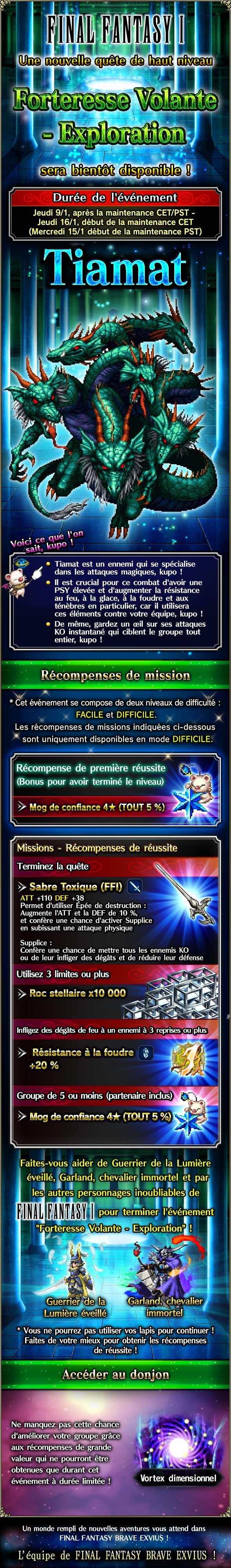 Trial MK FFI - Forteresse Volante (Exploration) - du 09/01 au 16/01/20 20200107FFIFlyingFortressExploration