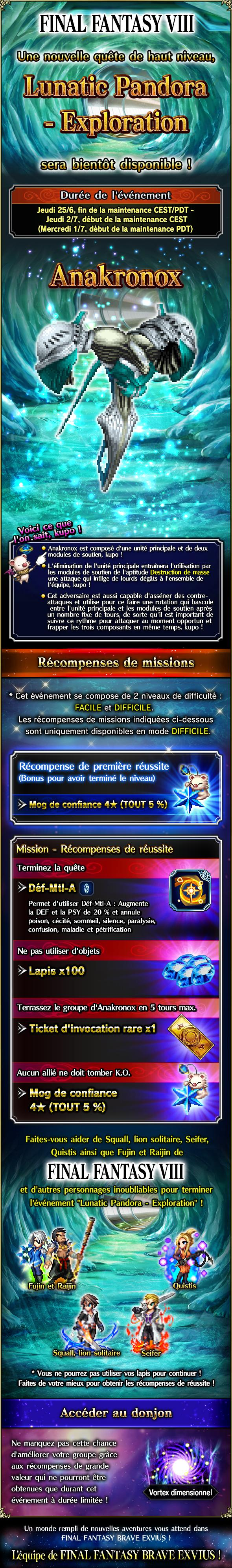 Trial MK FFVIII - Lunatic Pandora (Exploration) - du 25/06 au 02/07/20 20200623LunaticPandoraExploration