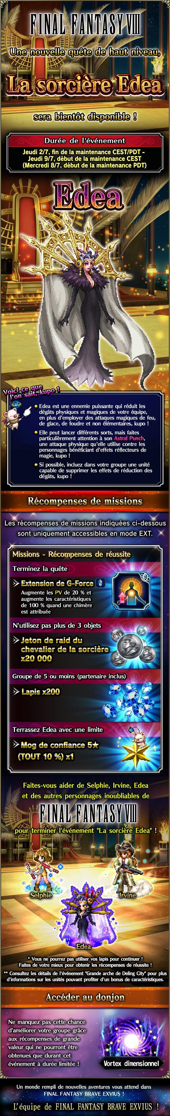 Trial de Raid - FFVIII - La sorcière Edea - du 02/07 au 09/07/20 20200630SorceressEdeaTrial