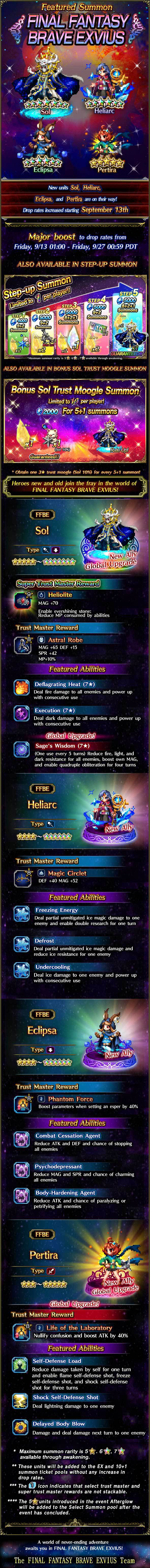 Invocations du moment - FFBE (Sol) - du 13/09 au 27/09/19 FeaturedSummonSol