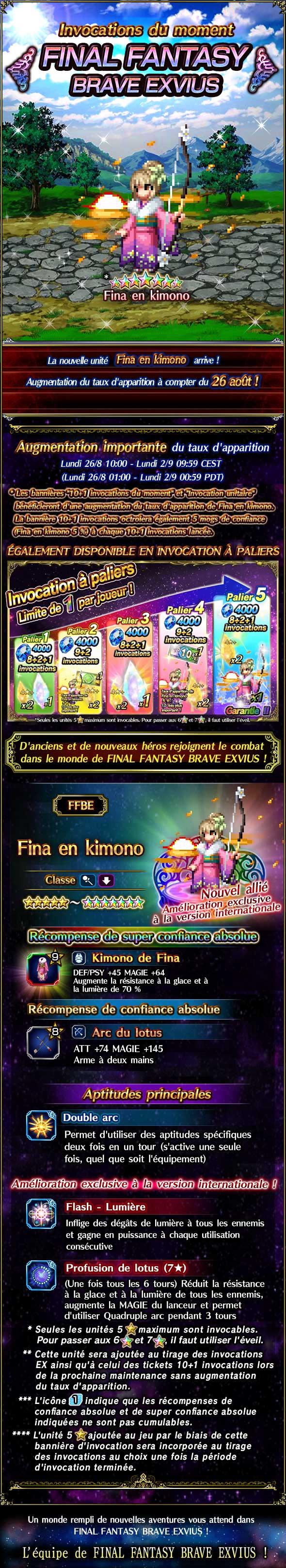Invocations du moment - FFBE (KFina) - du 26/08 au 02/09/19 KimonoFinaFeatureSummon