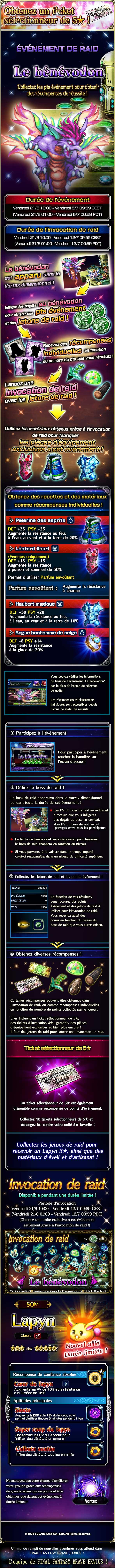 Evenement Raid - Collab CoM - Le bénévodon - à partir du 21/06/19 TheManaBeast